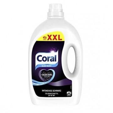 Coral black velvet skalbimo...